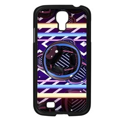 Abstract Sphere Room 3d Design Samsung Galaxy S4 I9500/ I9505 Case (Black)