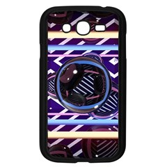 Abstract Sphere Room 3d Design Samsung Galaxy Grand DUOS I9082 Case (Black)
