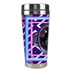 Abstract Sphere Room 3d Design Stainless Steel Travel Tumblers