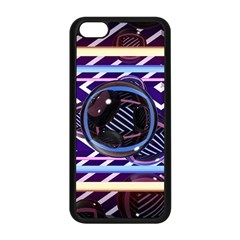 Abstract Sphere Room 3d Design Apple iPhone 5C Seamless Case (Black)