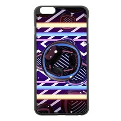 Abstract Sphere Room 3d Design Apple Iphone 6 Plus/6s Plus Black Enamel Case