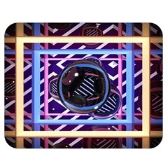 Abstract Sphere Room 3d Design Double Sided Flano Blanket (Medium)