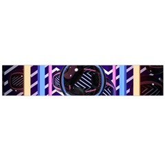 Abstract Sphere Room 3d Design Flano Scarf (Large)
