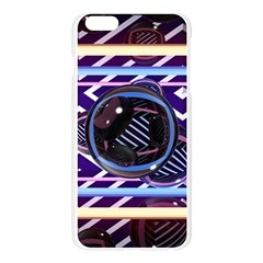 Abstract Sphere Room 3d Design Apple Seamless iPhone 6 Plus/6S Plus Case (Transparent)