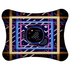Abstract Sphere Room 3d Design Jigsaw Puzzle Photo Stand (Bow)
