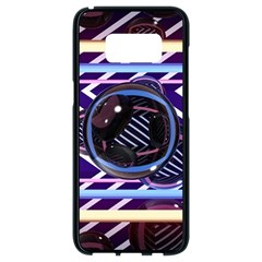 Abstract Sphere Room 3d Design Samsung Galaxy S8 Black Seamless Case