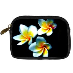 Flowers Black White Bunch Floral Digital Camera Cases