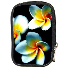 Flowers Black White Bunch Floral Compact Camera Cases