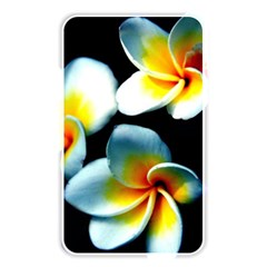 Flowers Black White Bunch Floral Memory Card Reader