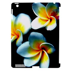 Flowers Black White Bunch Floral Apple Ipad 3/4 Hardshell Case (compatible With Smart Cover)