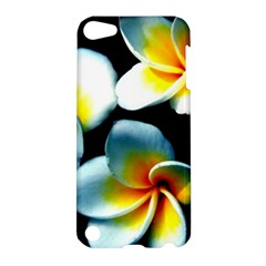Flowers Black White Bunch Floral Apple Ipod Touch 5 Hardshell Case