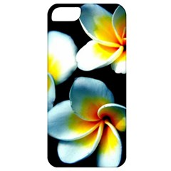 Flowers Black White Bunch Floral Apple iPhone 5 Classic Hardshell Case