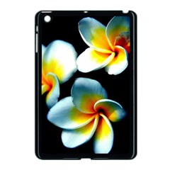 Flowers Black White Bunch Floral Apple Ipad Mini Case (black)