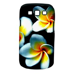 Flowers Black White Bunch Floral Samsung Galaxy S Iii Classic Hardshell Case (pc+silicone)