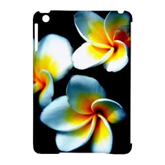 Flowers Black White Bunch Floral Apple Ipad Mini Hardshell Case (compatible With Smart Cover)
