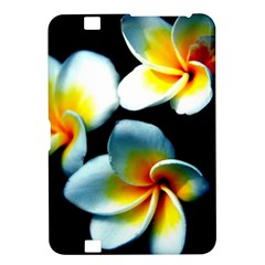 Flowers Black White Bunch Floral Kindle Fire Hd 8 9