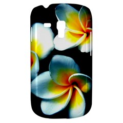 Flowers Black White Bunch Floral Galaxy S3 Mini