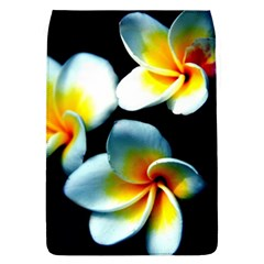 Flowers Black White Bunch Floral Flap Covers (L)