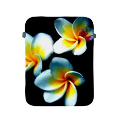 Flowers Black White Bunch Floral Apple Ipad 2/3/4 Protective Soft Cases