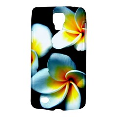 Flowers Black White Bunch Floral Galaxy S4 Active