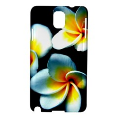 Flowers Black White Bunch Floral Samsung Galaxy Note 3 N9005 Hardshell Case
