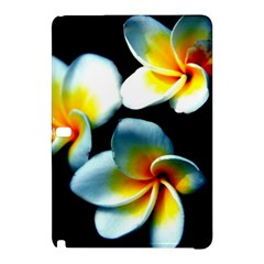 Flowers Black White Bunch Floral Samsung Galaxy Tab Pro 10 1 Hardshell Case