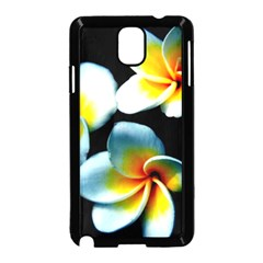 Flowers Black White Bunch Floral Samsung Galaxy Note 3 Neo Hardshell Case (black)