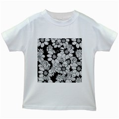 Mandala Calming Coloring Page Kids White T-Shirts