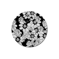 Mandala Calming Coloring Page Magnet 3  (Round)