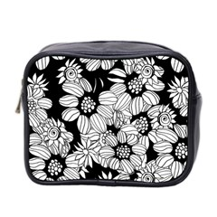 Mandala Calming Coloring Page Mini Toiletries Bag 2-Side