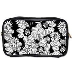 Mandala Calming Coloring Page Toiletries Bags