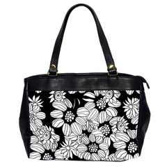 Mandala Calming Coloring Page Office Handbags (2 Sides)