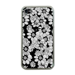 Mandala Calming Coloring Page Apple Iphone 4 Case (clear)
