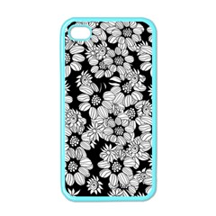 Mandala Calming Coloring Page Apple iPhone 4 Case (Color)