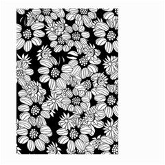 Mandala Calming Coloring Page Large Garden Flag (Two Sides)