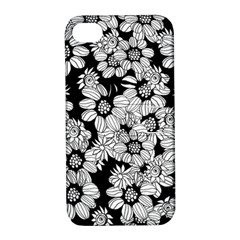 Mandala Calming Coloring Page Apple Iphone 4/4s Hardshell Case With Stand