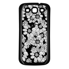 Mandala Calming Coloring Page Samsung Galaxy S3 Back Case (black)