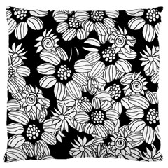 Mandala Calming Coloring Page Standard Flano Cushion Case (two Sides)