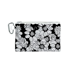 Mandala Calming Coloring Page Canvas Cosmetic Bag (s)