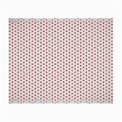 Motif Pattern Decor Backround Small Glasses Cloth (2 Side)