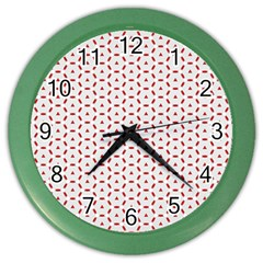 Motif Pattern Decor Backround Color Wall Clocks