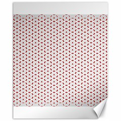 Motif Pattern Decor Backround Canvas 11  x 14