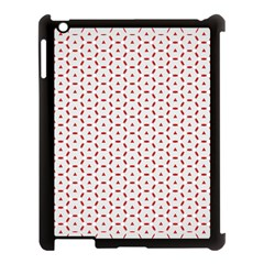 Motif Pattern Decor Backround Apple iPad 3/4 Case (Black)