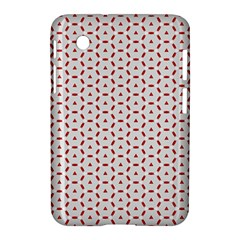 Motif Pattern Decor Backround Samsung Galaxy Tab 2 (7 ) P3100 Hardshell Case