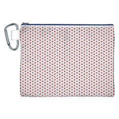 Motif Pattern Decor Backround Canvas Cosmetic Bag (XXL)