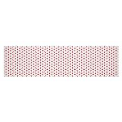 Motif Pattern Decor Backround Satin Scarf (oblong)