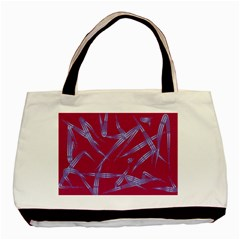 Background Vector Texture Pattern Basic Tote Bag (two Sides)