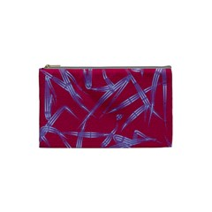 Background Vector Texture Pattern Cosmetic Bag (Small)