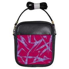 Background Vector Texture Pattern Girls Sling Bags