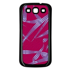 Background Vector Texture Pattern Samsung Galaxy S3 Back Case (black)
